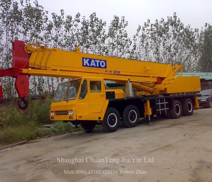 Used Kato NK250E NK350E NK400E NK500E NK550E NK600E NK650E NK750E NK800E Cranes
