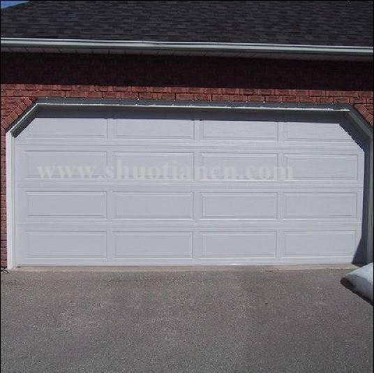 section garage door