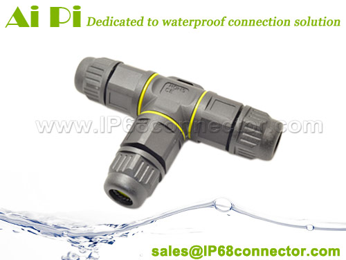 waterproof Tsplitter connector