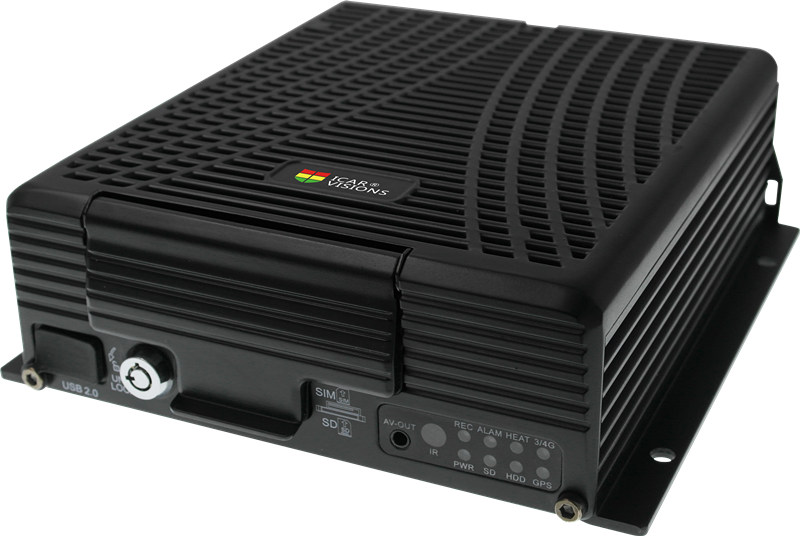 4CH HD Mobile DVR 720P with 1CH IP Cam 3G 4G GPS WiFi for vehicle security solutions