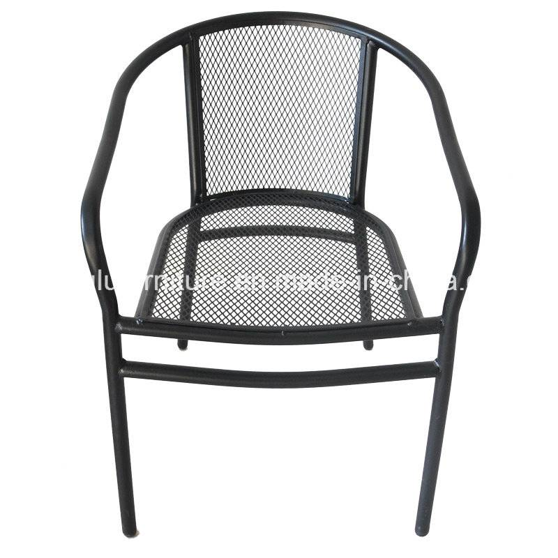 Stackable Metal Outdoor Chair (ALL-OC807)