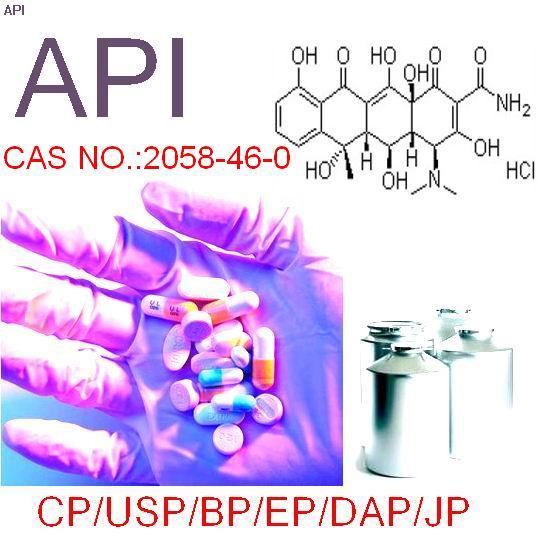 USP/BP/EP/CP Grade Oxytetracycline,CAS:2058-46-0