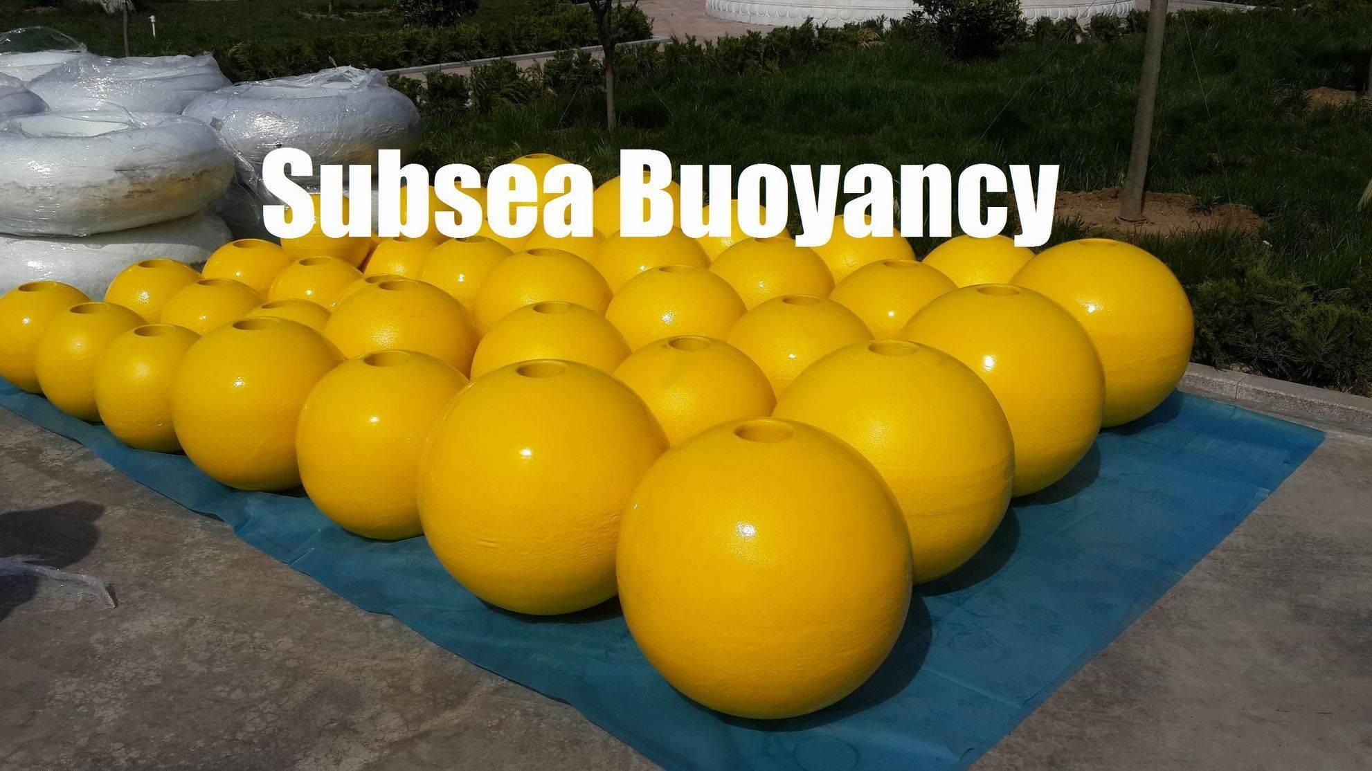 Subsea Buoy, operating depths of exceeding 6000 meters