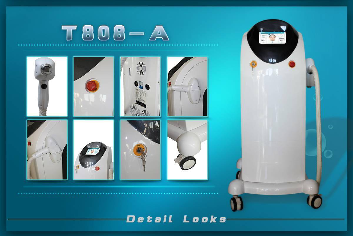 Diode laser 808 for hair removal