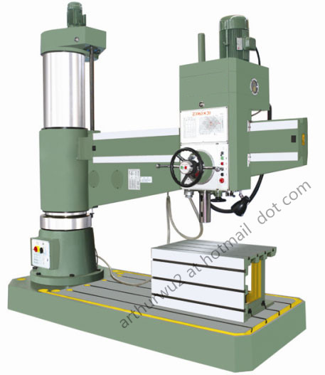 Z3050 Radial Drilling Machine(Hydraulic type)