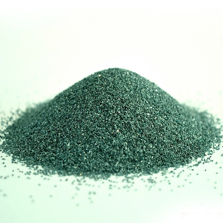 High density and good color F60 Macro grit silicon carbide green used for grinding wheel