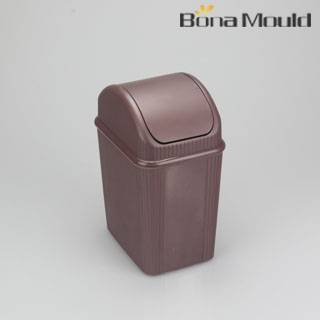 Sell plastic swing trash can mould