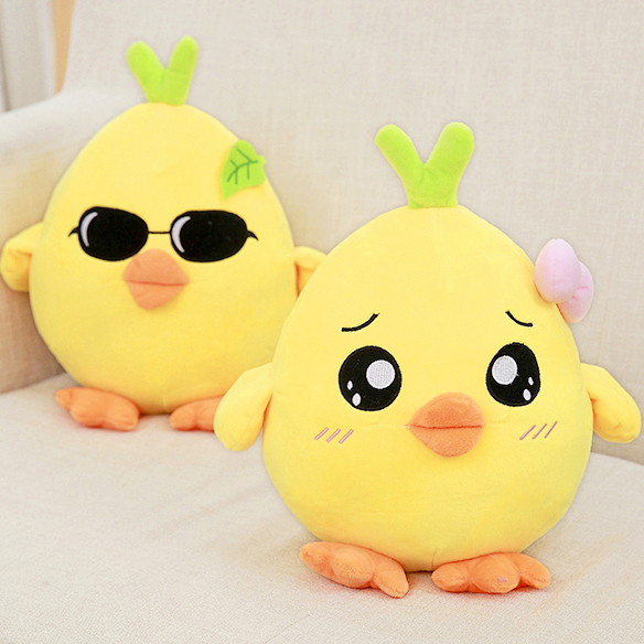 Cute chick doll chicken soft toy chicken pillows as gift DS-CK001
