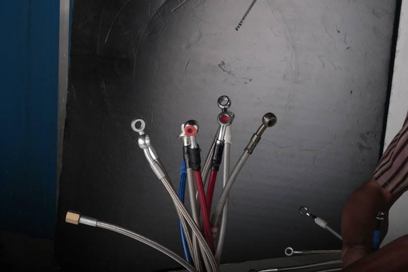 stainless steel braided brake hose