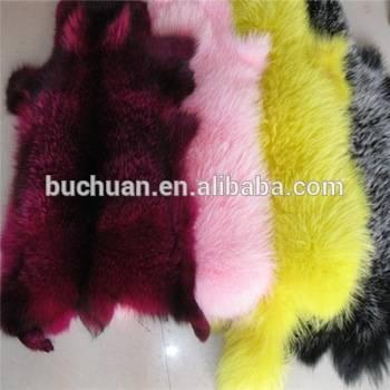 Rex Rabbit Fur Fur Throw Blanket