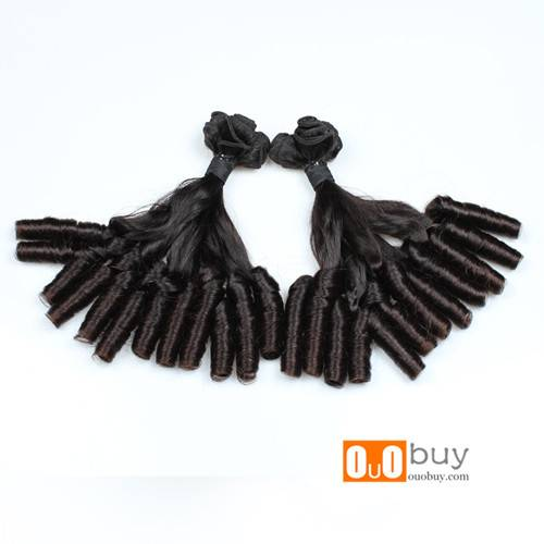 Hot Selling Grade 10A Double Drawn Aunty Funmi Unprocessed Wholesale Virgin Malaysian Hair