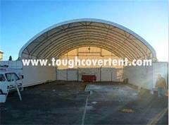 12m(40'),14m(46') wide Truss Structure Container Shelter,Warehouse Tent TC4040C, TC4640C