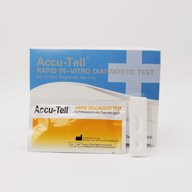 Accu-Tell® HBeAg Rapid Test Cassette (Serum/Plasma)