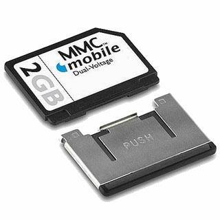 Sell MMC memory card for mobile devices from wholesaler