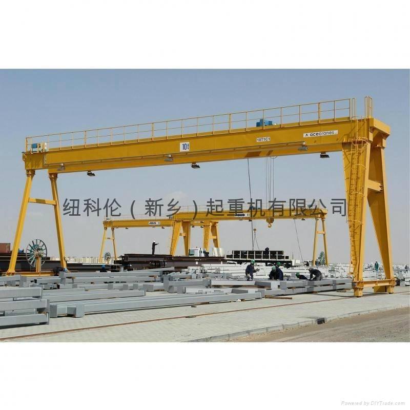 World Advanced Double Girder Goliath Crane