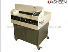 XH480 electrical numerical paper trimmer machine