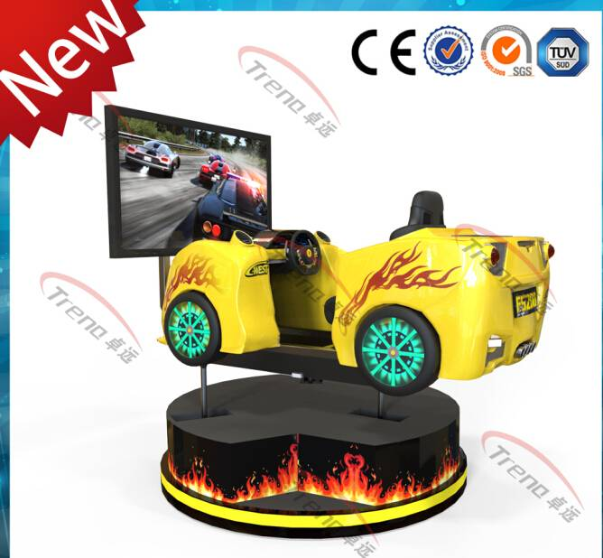 360 degree car simulator with coin system factory