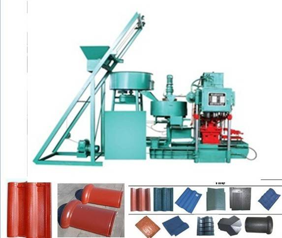 SMY8-128 roof tile making machine
