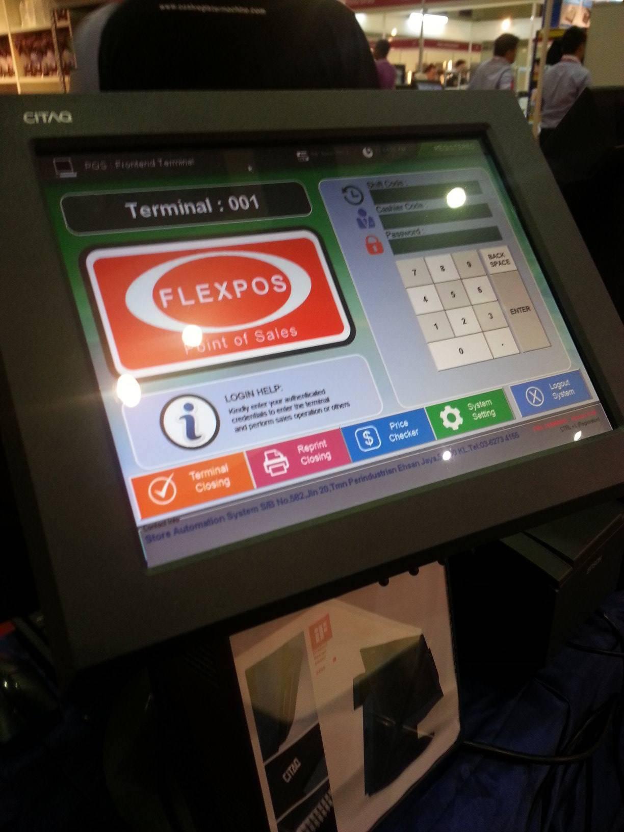 Touch Screen POS System F&B Termimal Kiosk/Restaurant