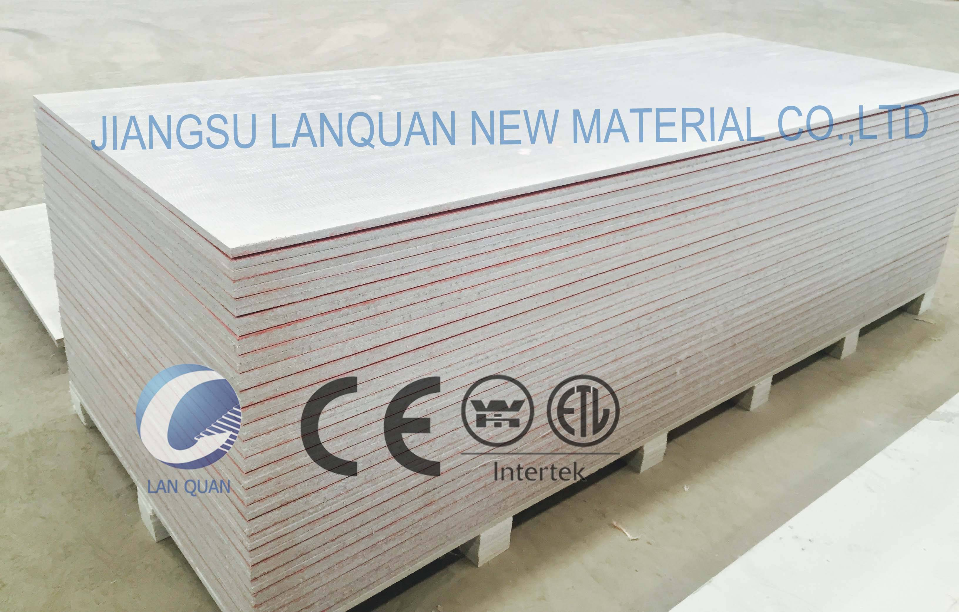 2016 High strength magnesium exterior wall board
