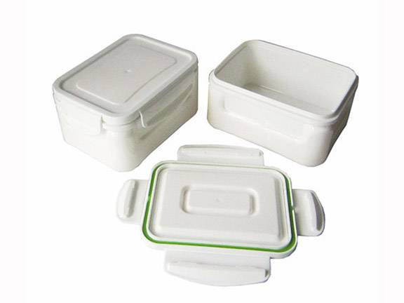 TRS1002B Plastic Double Wall Food Container Keep Warm