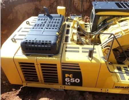 komatsu excavator pc650lc for sale