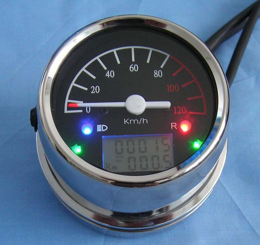 ATV meter with LCD