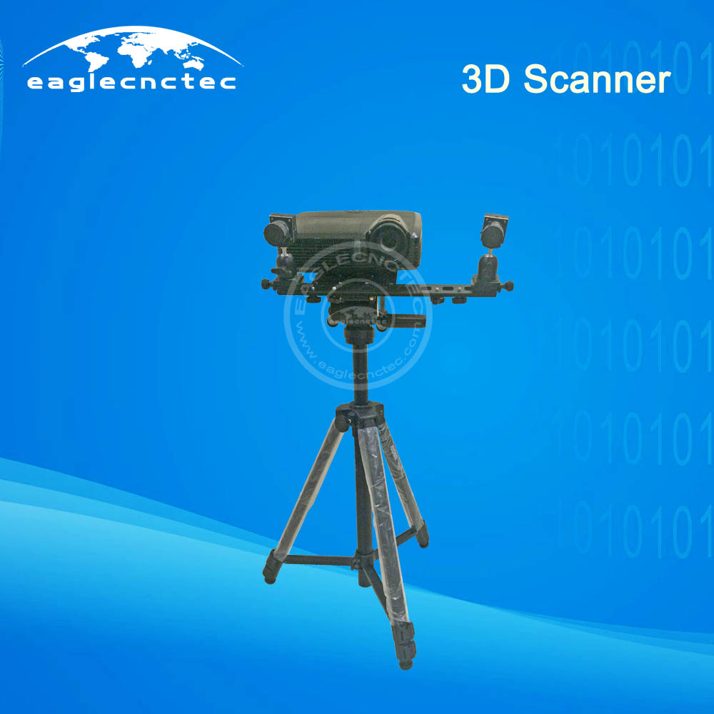 Industrial 3D Scanner Support Geomagic Software for CNC Router