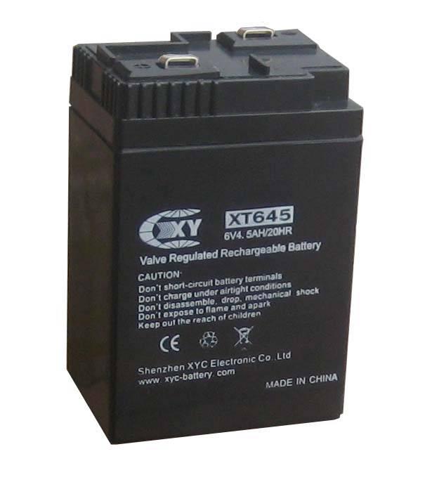 6V4AH for emergency light use
