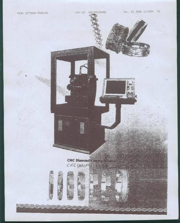 we need CNC Diamond Cutting Machine