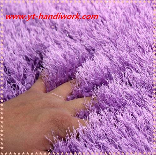 100% polyester shaggy carpet/shaggy rugs/plush carpet tiles/shaggy rugs