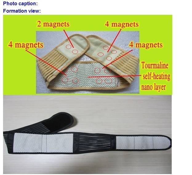 Magnetic W/Far Infrared Rays Support Belt