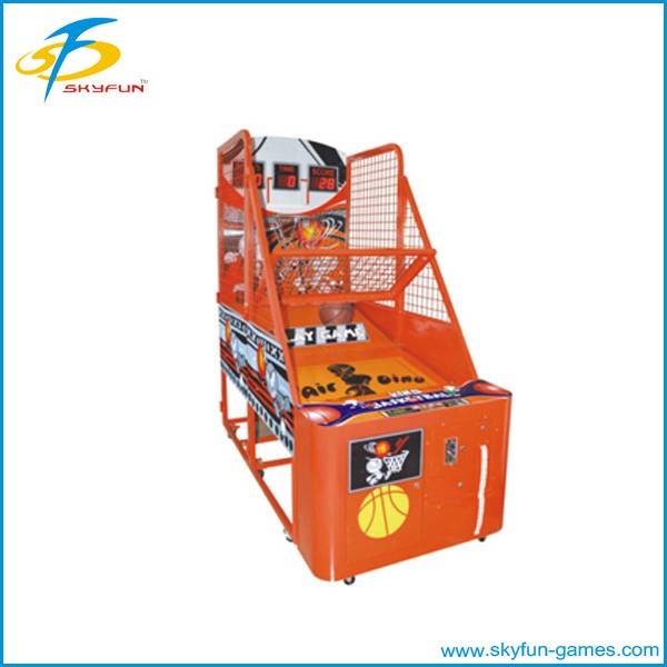 hot sale happy time children basketball machine