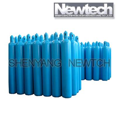 High pressure seamless steel cylinder
