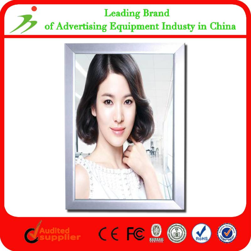 A2 Advertising Silver Aluminum Snap Frame Light Box