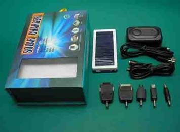 Multifunctional Solar Battery Emergency Charger
