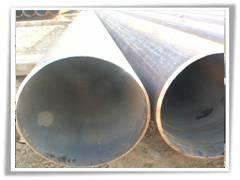 Large-diameter seamless steel pipe