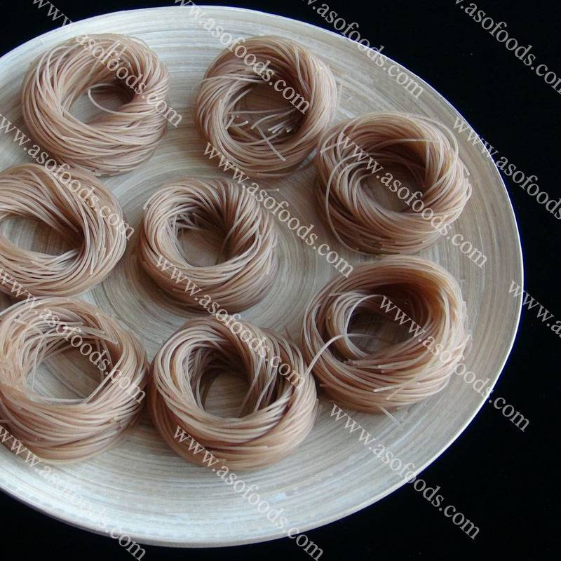 Sell brown rice vermicelli noodle made by jasmine rice