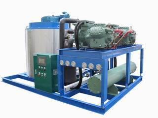 Automatic Flake Ice Machine With Touch Screen, Ice Plant(10ton/day)