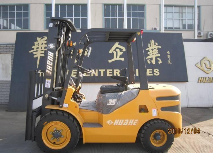 Huahe 3.5T Diesel Forklift (HH35Z-N3-D)WITH XINCHANGA490BPG