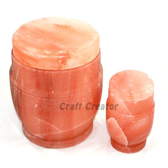 Himalayan Natural Salt Ash Urn
