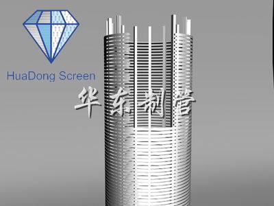 Buy HuaDong Wedge wire screen pipes,v-shaped screen pipes