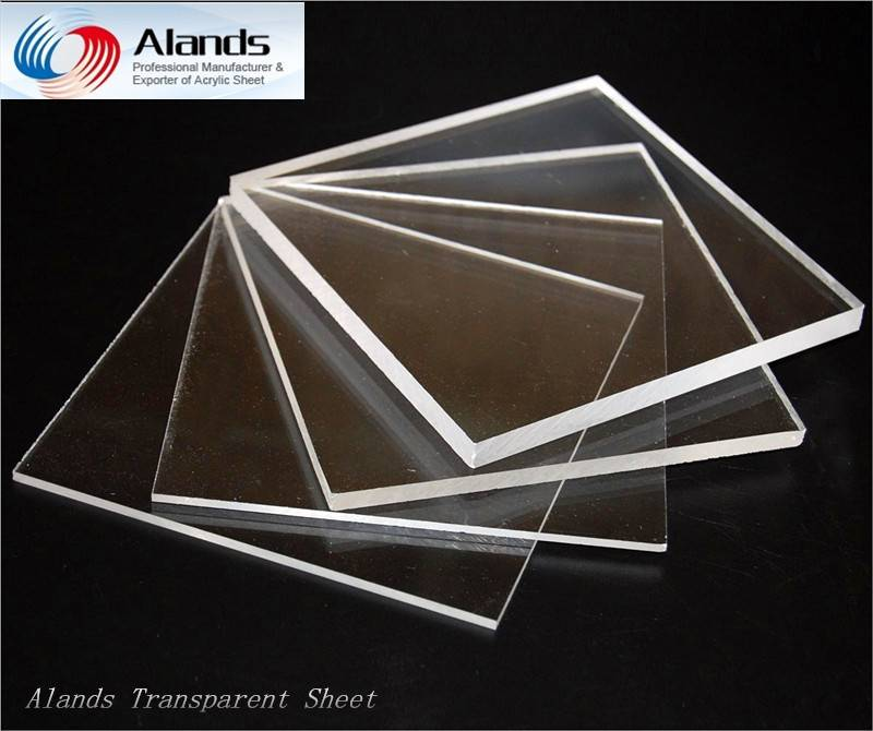 Clear acrytlic sheet cut size 1.8mm-30mm