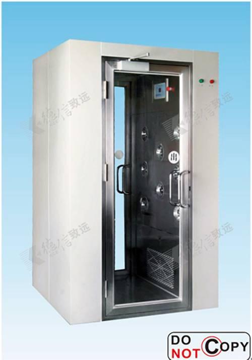 Air shower clean room