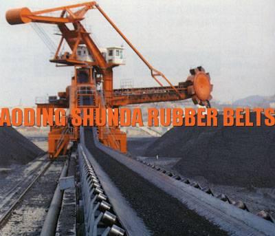 Mining underground Flame resistant fire retardant Conveyor belt