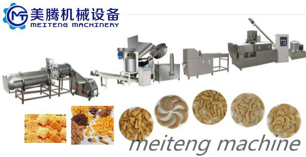 Automatic Fried Flour Snack ProcessingLine/Production Line