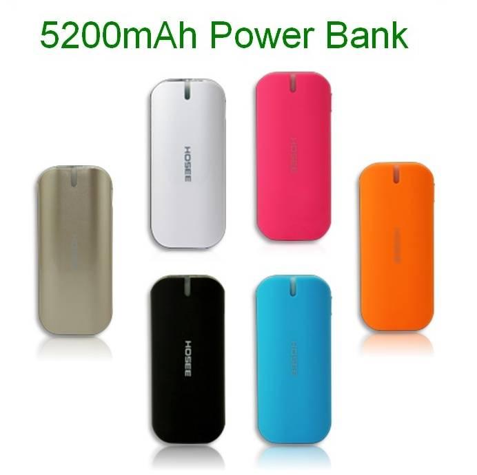 iPhone / Samsung Mobile phone Power Station external power bank portable power supply 5200mah