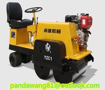 Lower Price Chinese 1Ton Road Roller Compactor