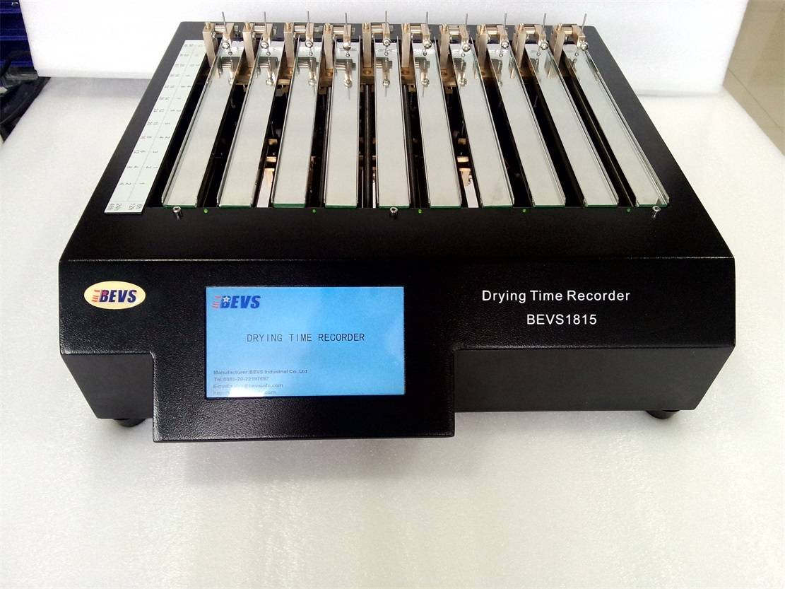 Drying Time Recorder Supplied