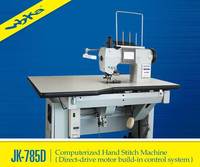 JK-785D High Speed computer-controlled Hand Stitch Sewing Machine